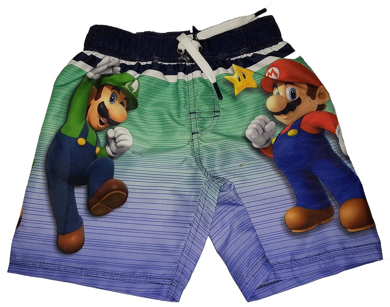 Super Mario and Luigi Graphic Swim Boardshort