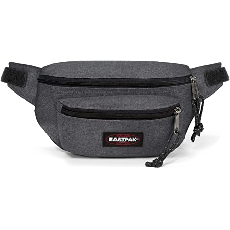 Eastpak Doggy Bag Gürteltasche, 27 cm, 3 L, Grau (Black Denim)