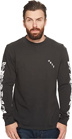Obey - Olde Rose Long Sleeve Tee