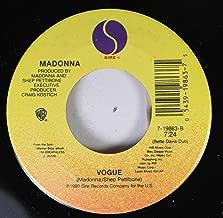 Madonna 45 RPM Vogue / Vogue