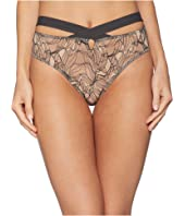 ELSE - Bohemian Bikini Brief with Cross Front