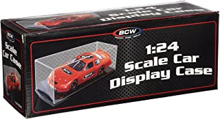 BCW 1-SCD-124 1:24 Scale Car Display Case - Die Cast Nascar