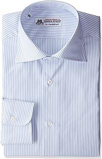 (フェアファクス) FAIRFAX サックス細ストライプワイドカラーシャツ 7506 13 サックス 42