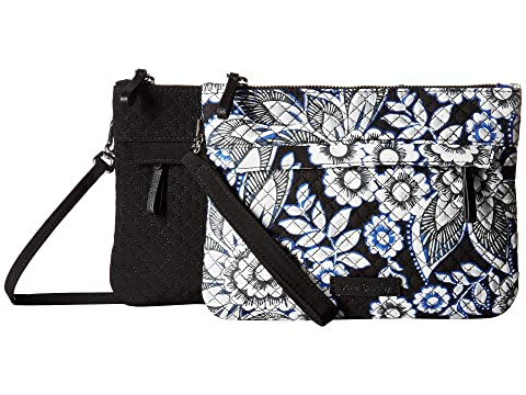 Lotus Snow Custom Iconic Vera Bradley Crossbody CwSqA06fgx