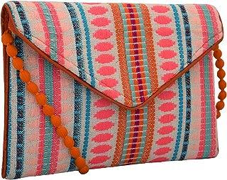 Handloom and Jacquard Fabric Evening Bag Clutch Purses for Women