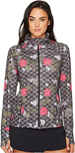 Eleven by Venus Williams - Floral Brocade Slow Burn Jacket