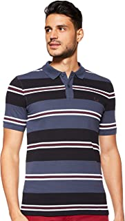 Fred Perry Mens Contrast Stripe Pique Polo