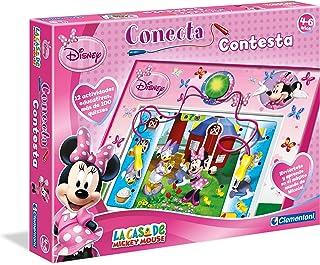 Clementoni - Conecta Minnie 100 Preguntas 17-65387