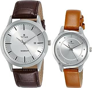 Titan Modern Bandhan Analog Silver Dial Unisex Watch-15842481SL01