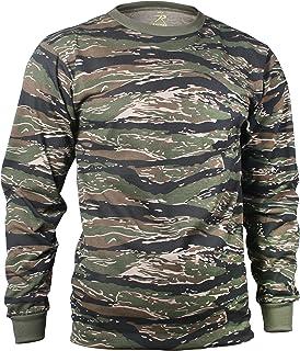 ロスコ 長袖Tシャツ タイガーストライプ ROTHCO LONG SLEEVE T-SHIRT / TIGER STRIPE 66787 (L)