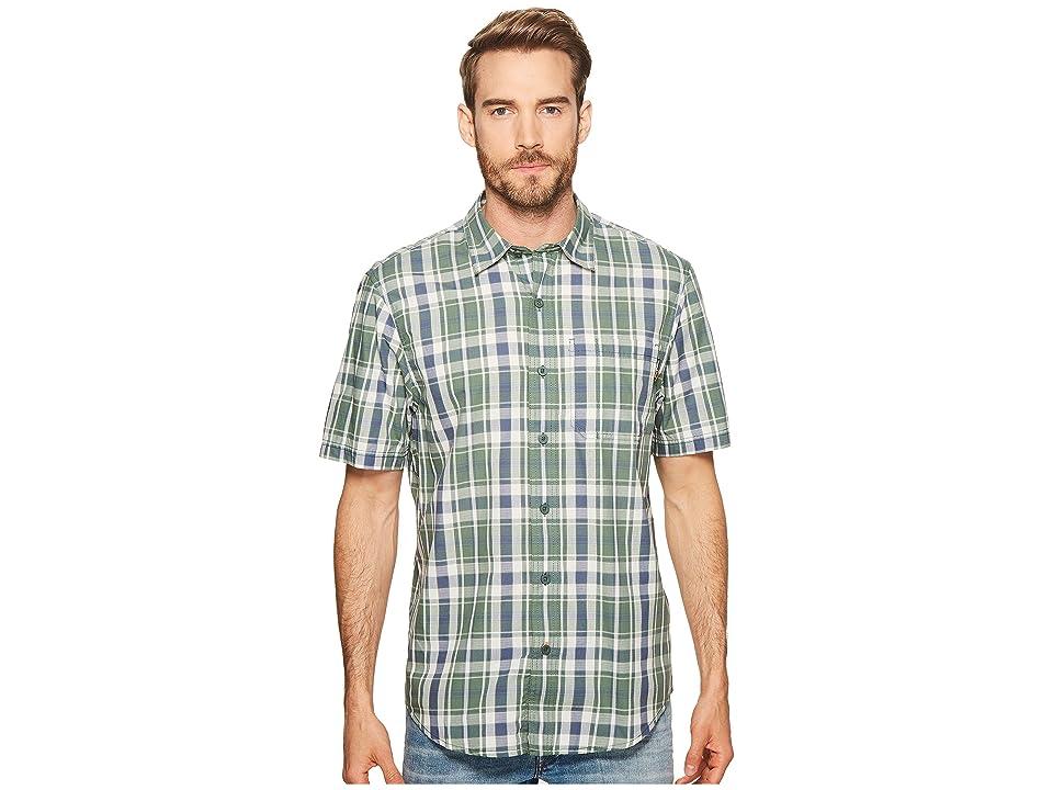 Timberland PRO Plotline Short Sleeve Plaid Work Shirt (Duck Green Plaid) Men