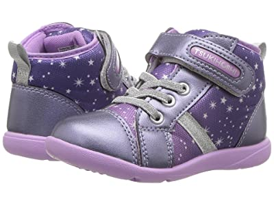 Tsukihoshi Kids Star (Toddler/Little Kid) (Navy/Purple) Girls Shoes
