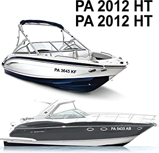 1060 Graphics Boat Registration Numbers (3