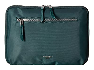 KNOMO London Mayfair Knomad 10.5 Tech Organizer (Deep Pine) Travel Pouch