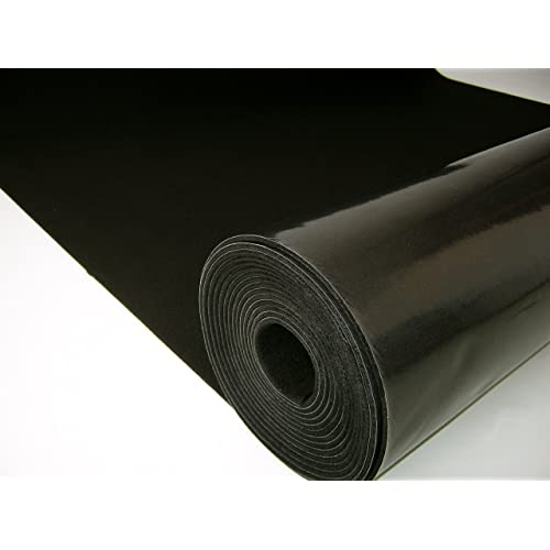 MuteX Soundproof Material (Black, 30 sqft, 5'x6')