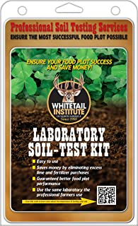 Whitetail Institute Laboratory Soil-Test Kit