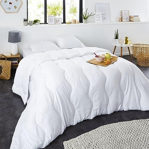 Sweetnight - Couette Hiver 400g/m²   220x240cm   Chaude et Enveloppante   Anti Acariens   Gonflante Ultra Confort   L...