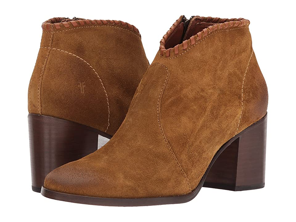 Frye Nora Whipstitch Shootie (Wheat) Women