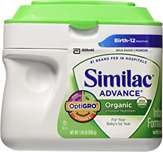 Similac Advance Organic Powder, 1.45 Pounds