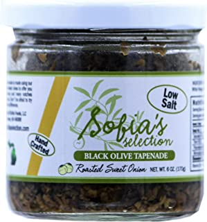 Sofia's Selection Black Olive Tapenade with Roasted Sweet Onion, 6 Ounce