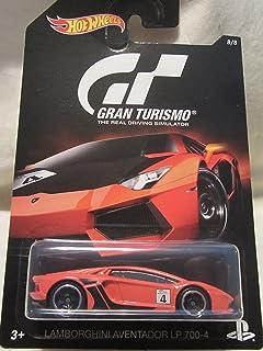 Hot Wheels 2016 Gran Turismo Lamborghini Aventador LP 700-4 8/8, Orange