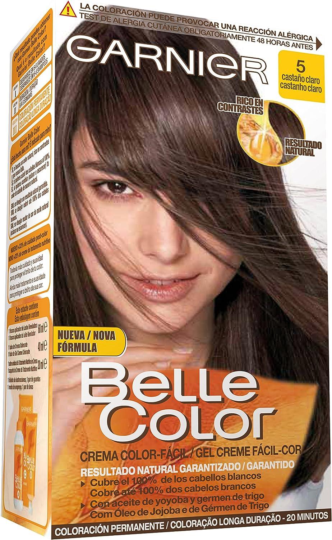 Garnier Belle Color Coloración, Tono: 5 Castaño Claro: Amazon ...