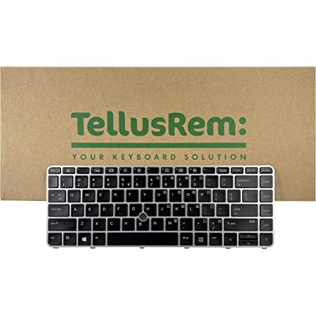 Replacement New US Backlit Keyboard with Pointer for HP 840 G3, 745 G3, 840 G4, 745 G4