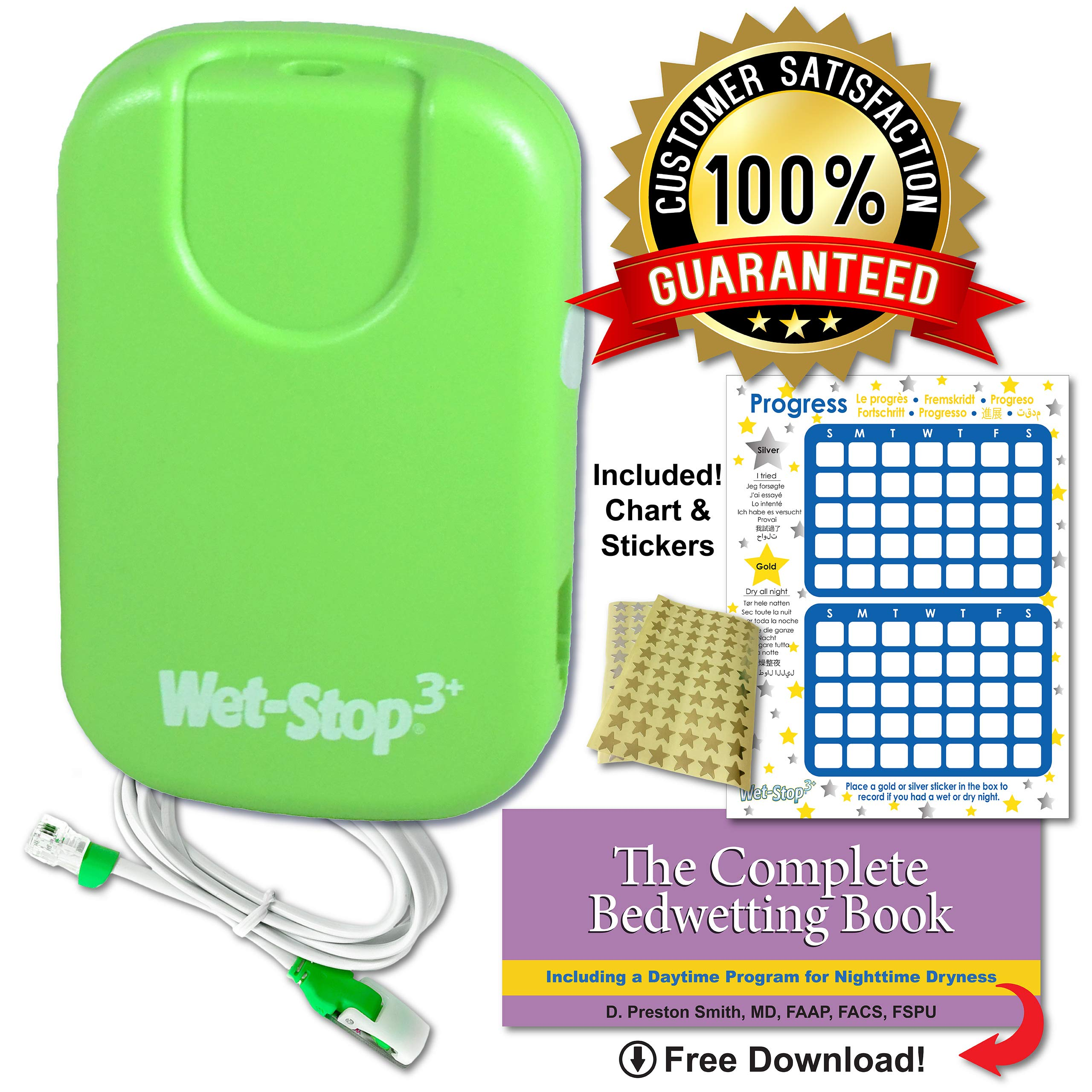 Wet Stop3 Bedwetting Enuresis Vibration Options