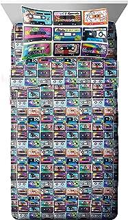 Nickelodeon Splat/Nick 90's Mix Tape Super Soft 3 Piece Twin Sheet Set