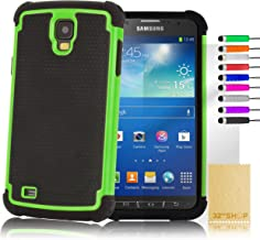 32ndShock Proof Heavy Duty Defender Case Cover for for Samsung Galaxy S4 Active i9295 - Green
