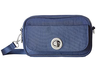 Baggallini International Hanoi RFID Convertible Bag (Indigo Sky) Cross Body Handbags
