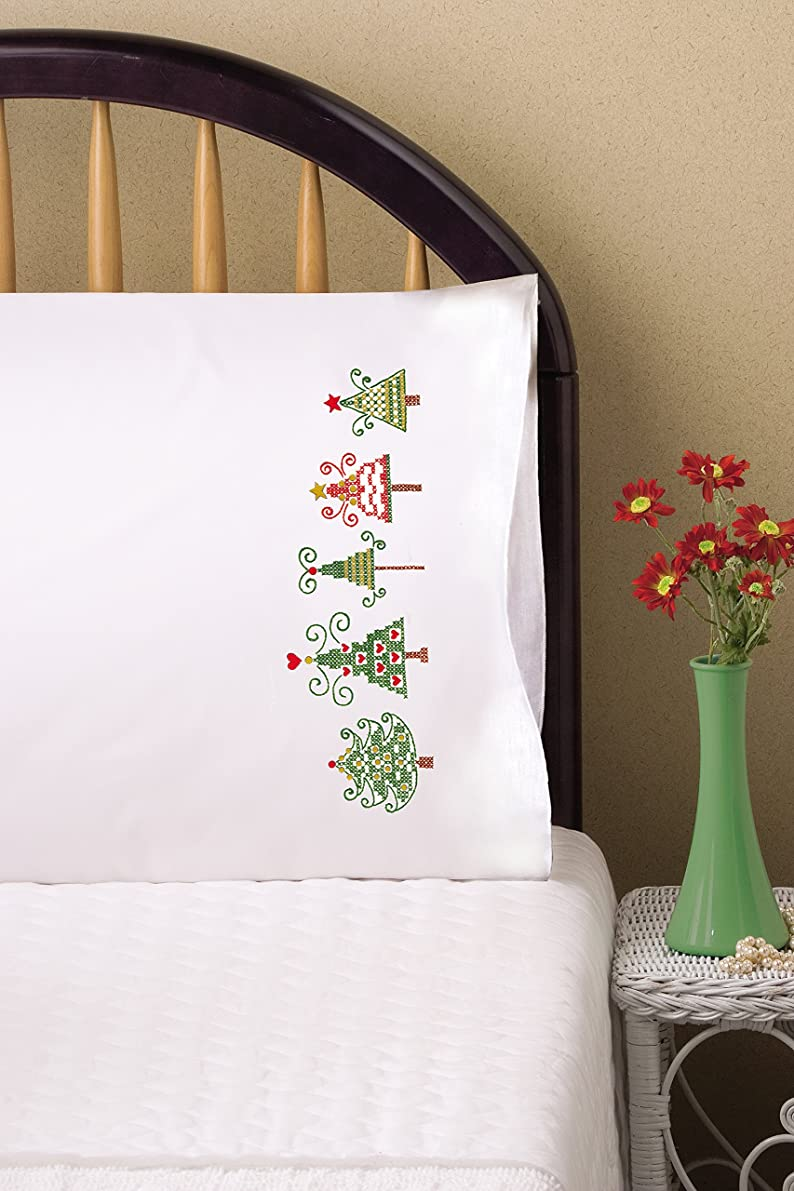 Tobin Stamped For Embroidery Pillowcase Pair 20