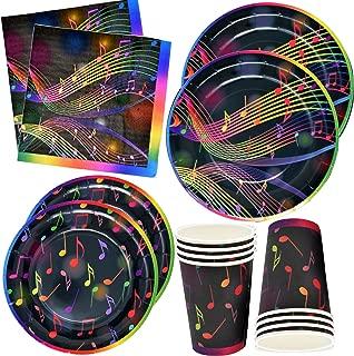 Musical Notes Tableware Set 24 9
