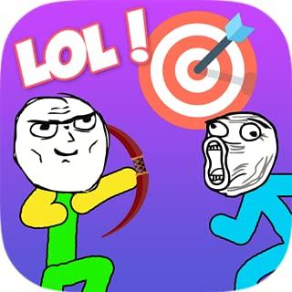 Troll Face Stickman Archer - Longbow Archery Quest