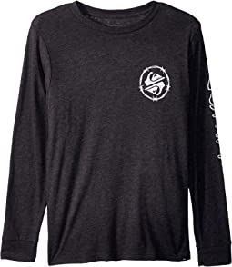 Quiksilver Kids - Critical Dates Long Sleeve Top (Big Kids)