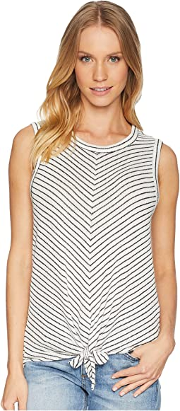 Rosanna Soft Tie Front Tank Top