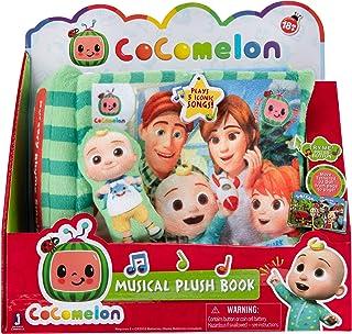 Cocomelon Nursery Rhyme Singing Time Plush Book, CMW0025