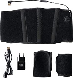 Thermrup Afstandsbediening infrarood (FIR) warmtegordel - USB-voeding (powerbank en voeding) verwarmbare riem (medische kw...