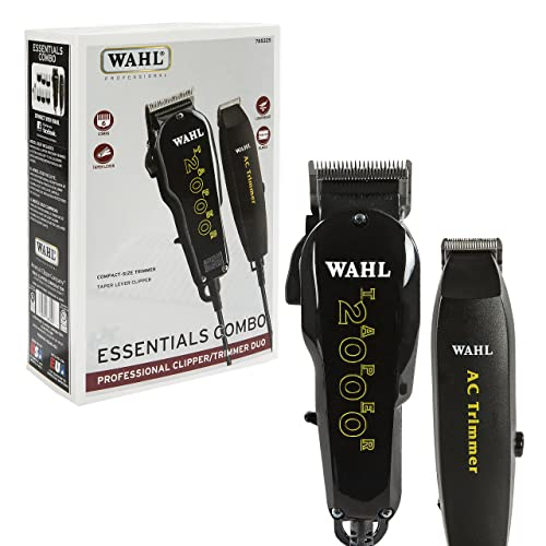 Wahl Professional Essentials Combo #8329 - Features the Taper 2000 Clipper and AC Trimmer -