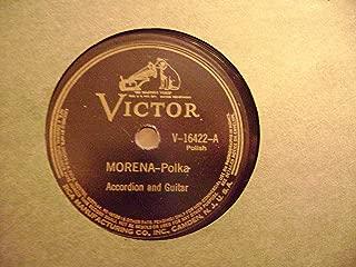 Harmonika-Polka/Morena. Tex Mex 78 RPM
