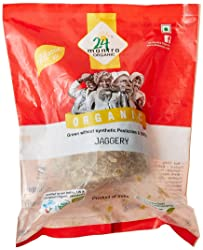 24 Mantra Organic Products Jaggery, 450g