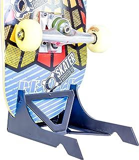 SKATERTRAINER Skater Trainer un Lugar para tu monopatín, Tienda o exhibición con Estilo con un Soporte Original para monopatín | El Estante para Patines Origami de Skater Trainers