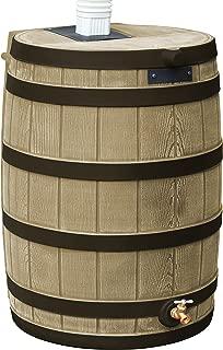 Good Ideas RW40-DR-KHA Rain Wizard Rain Barrel 40-Gallon Darkened Ribs, Khaki