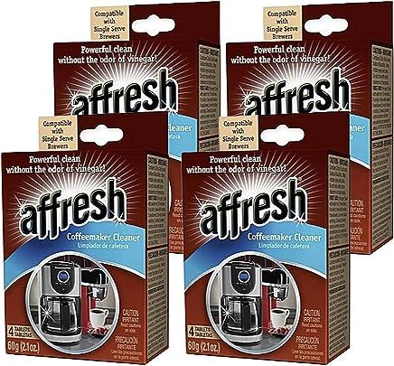4 Pack of Affresh Coffee Maker Cleaner