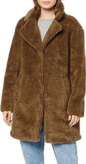 Urban Classics Ladies Oversized Sherpa Coat Abrigo para Mujer