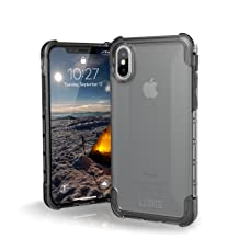 UAG iPhone Xs/X [5.8-inch Screen] Plyo Feather-Light Rugged [Ice] Military Drop Tested iPhone Case