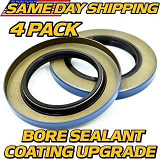 HD Switch (4 Pack) 10-10, 21333TB Double Lip Seals for 6K & 7K Trailer Axles w/BORE Seal Upgrade