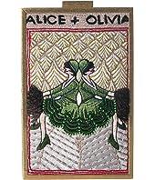 Alice + Olivia - Sophia Vintage Twins North South Clutch
