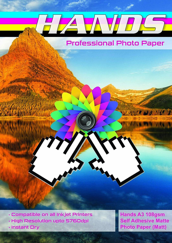 200 200 200 Blatt Hände A3 108 GSM selbstklebend matt Fotopapier (matt) B01MFGC5EO  | Speichern  dd59c0