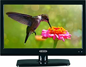 "Jensen JTV1917DVDC 19"" Inch RV LCD LED TV with Build-In DVD Player, High Performance Wide 16:9 LCD Panel, Resolution 1366 x 768, Integrated HDTV (ATSC) Tuner, HDTV Ready (1080p, 720p, 480p), 12V DC"